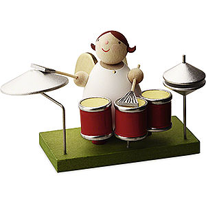 Angels Reichel Big Band Big Band guardian angel with drums - 3,5cm / 1.3inch