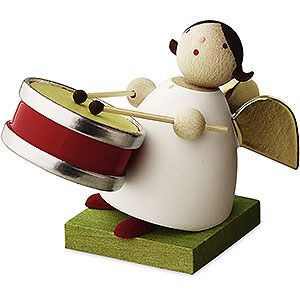 Angels Reichel Big Band Big Band guardian angel with small drum - 3,5cm / 1.3inch