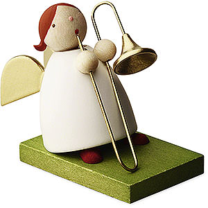 Angels Reichel Big Band Big Band guardian angel with trombone - 3,5cm / 1.3inch