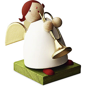 Angels Reichel Big Band Big Band guardian angel with trumpet - 3,5cm / 1.3inch