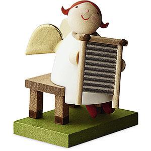Angels Reichel Big Band Big Band guardian angel with washboard - 3,5cm / 1.3inch