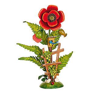 Kleine Figuren & Miniaturen Hubrig Blumenkinder Blumeninsel Mohn - 14 cm