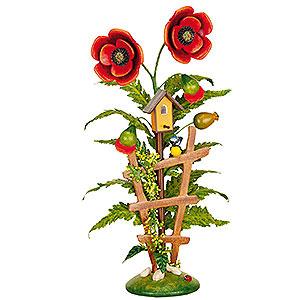 Kleine Figuren & Miniaturen Hubrig Blumenkinder Blumeninsel Mohn - 24 cm