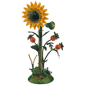 Kleine Figuren & Miniaturen Hubrig Blumenkinder Blumeninsel Sonnenblume - 14cm