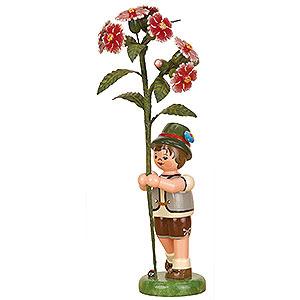 Kleine Figuren & Miniaturen Hubrig Blumenkinder Blumenkind Junge Buschnelke - 17cm