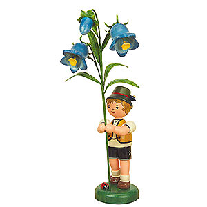 Kleine Figuren & Miniaturen Hubrig Blumenkinder Blumenkind Junge Fingerhut - 24cm