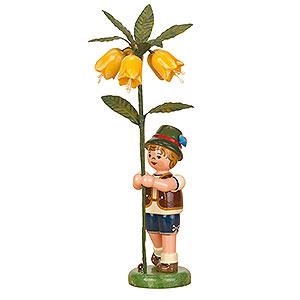 Kleine Figuren & Miniaturen Hubrig Blumenkinder Blumenkind Junge Kaiserkrone - 17cm