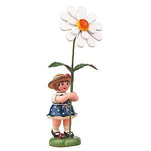 Kleine Figuren & Miniaturen Hubrig Blumenkinder Blumenkind Mädchen mit Margerite - 11cm