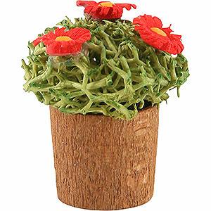 Weihnachtsengel Günter Reichel Dekoration Blumentopf mit Blüten - 3cm