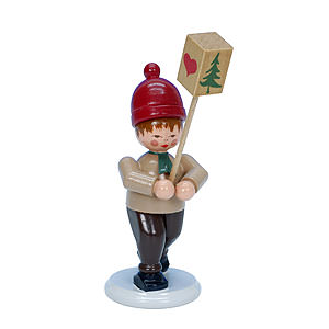 Small Figures & Ornaments everything else Boy with Lantern - 8,0 cm / 3 inch