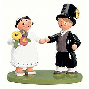 Kleine Figuren & Miniaturen alles Andere Brautpaar - 7cm