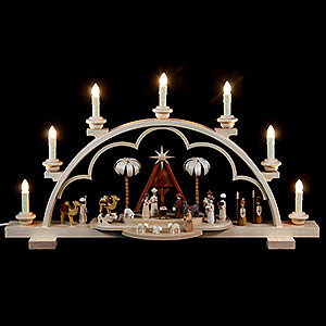 Candle Arches All Candle Arches Candle Arch - Christmas Story - 64 cm / 56 inch - 120 V Electr. (US-Standard)