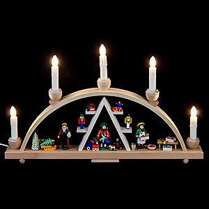 Candle Arches All Candle Arches Candle Arch Christmas at Seiffen - 19 x 11 inch - 48 x 28 cm