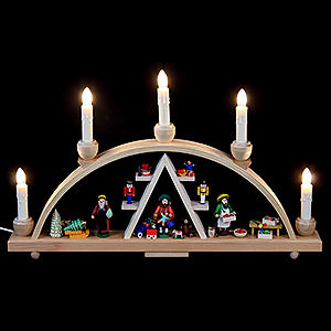 Candle Arches All Candle Arches Candle Arch - Christmas at Seiffen - 19x11 inch - 48x28 cm / 11 inch