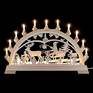 Candle Arches Fret Saw Work Candle Arch - Christmascountry