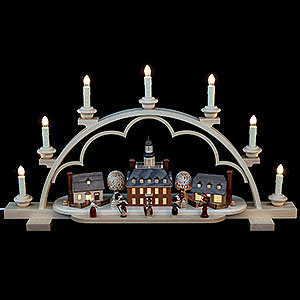 Candle Arches Illuminated inside Candle Arch - Colonial Village - 64 cm / 25 inch
