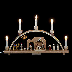 Candle Arches All Candle Arches Candle Arch Nativity scene - 19 x 11 inch - 48 x 28 cm