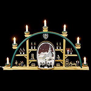 Candle Arches All Candle Arches Candle Arch - Scenes From the German Erzgebirge - 72x41 cm / 28x16 inch