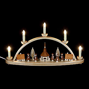 Candle Arches All Candle Arches Candle Arch - Seiffener Church - 50 cm / 20 inch