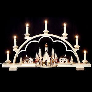 Candle Arches All Candle Arches Candle Arch - Village in the Alps - 64 cm / 25 inch - 120 V Electr. (US-Standard)