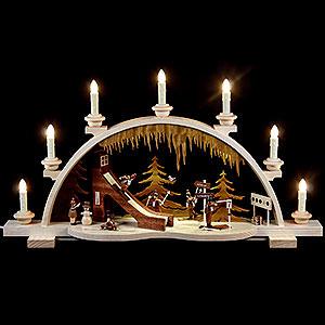 Candle Arches All Candle Arches Candle Arch - Wintersport - 65 cm / 26 inch - 120 Volt (US-Standard)