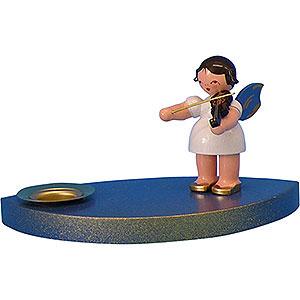 World of Light Candle Holder Angels Candle Holder - Angel with Violine - 7 cm / 2.8 inch