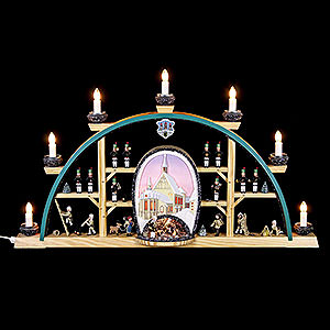Candle Arches All Candle Arches Candle arch Freiberg cathedral - 70x40cm / 27.5x15.7inch