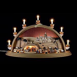 Candle Arches All Candle Arches Candle arch The Nativity - 75x42x20cm / 29.5x16.5x7.8inch