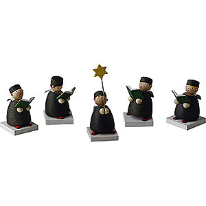 Angels Reichel Guardian Angels Carolers set of five - 3,5cm / 1.3inch