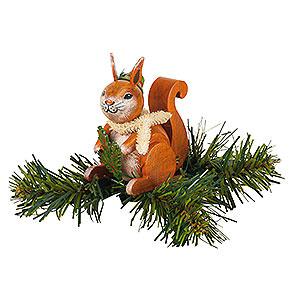 Christbaumschmuck Sonstiger Baumschmuck Christbaumschmuck Baumclipser Eichhörnchen - 7,5cm