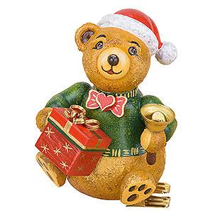 Christbaumschmuck Spielzeug-Design Christbaumschmuck Baumclipser Teddy Weihnachtsbärli - 8cm