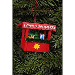 Christbaumschmuck Spielzeug-Design Christbaumschmuck Christkindlmarkt Spielzeug - 6,3 x 5,3cm