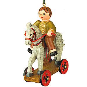 Christbaumschmuck Spielzeug-Design Christbaumschmuck Der erste Ausritt - 7,5 cm