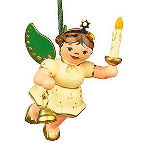Christbaumschmuck Engel Baumbehang Schwebeengel Christbaumschmuck Engel Licht Glocke 6cm