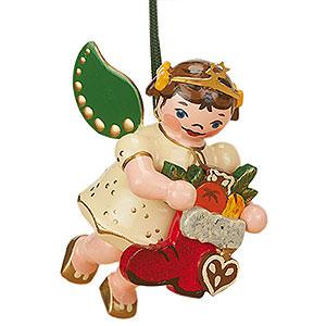 Christbaumschmuck Engel Baumbehang Schwebeengel Christbaumschmuck Engel Nikolausstiefel  - 6cm
