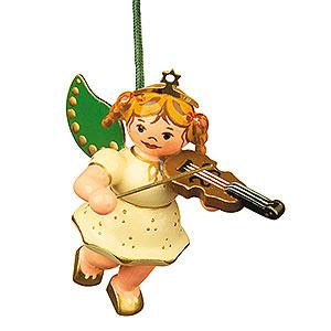 Christbaumschmuck Engel Baumbehang Schwebeengel Christbaumschmuck Engel mit Geige - 6cm