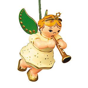 Christbaumschmuck Engel Baumbehang Schwebeengel Christbaumschmuck Engel mit Klarinette - 6cm