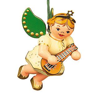 Christbaumschmuck Engel Baumbehang Schwebeengel Christbaumschmuck Engel mit Mandoline - 6 cm