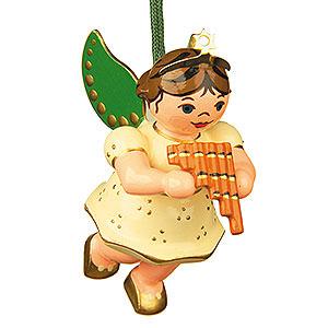 Christbaumschmuck Engel Baumbehang Schwebeengel Christbaumschmuck Engel mit Panflöte - 6 cm