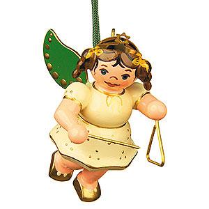 Christbaumschmuck Engel Baumbehang Schwebeengel Christbaumschmuck Engel mit Triangel - 6cm
