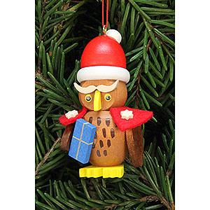 Christbaumschmuck Weihnachtsmann Christbaumschmuck Eule Weihnachtsmann - 3,2x6,2cm