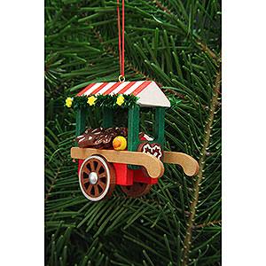 Christbaumschmuck Spielzeug-Design Christbaumschmuck Marktwagen mit Lebkuchen - 7,5 cm