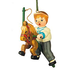 Christbaumschmuck Spielzeug-Design Christbaumschmuck Mein Steckenpferd - 6,5 cm