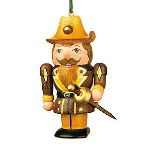 Christbaumschmuck Strolche & Andere Christbaumschmuck Nussknacker-Musketier - 7cm
