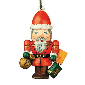 Christbaumschmuck Strolche & Andere Christbaumschmuck Nussknacker-Weihnachtsmann - 7 cm