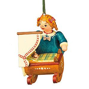 Christbaumschmuck Spielzeug-Design Christbaumschmuck Puppenmutti - 5cm