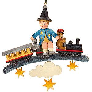 Christbaumschmuck Spielzeug-Design Christbaumschmuck Sandmann/Teddy/Zug - 9cm