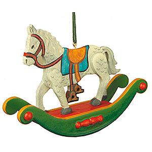 Christbaumschmuck Spielzeug-Design Christbaumschmuck Schaukelpferd - 7cm
