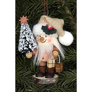 Christbaumschmuck Weihnachtsmann Christbaumschmuck Strolch Weihnachtsmann natur - 10,5cm