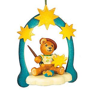 Christbaumschmuck Spielzeug-Design Christbaumschmuck Teddy-Kunstmaler - 7cm